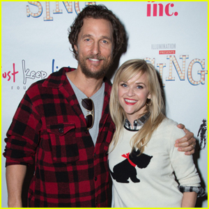 Reese Witherspoon & Matthew McConaughey Host 'Sing' Screening For a Good Cause!