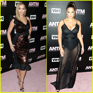 Rita Ora & Ashley Graham Go Sexy for 'ANTM' Premiere Party in NYC