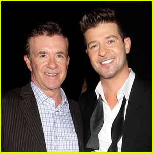 Robin Thicke Remembers His Dad Alan, 'The Greatest Man'