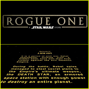 'Star Wars' Opening Crawl Creator: 'Rogue One' Made 'Huge Mistake'