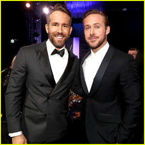Ryan Gosling & Ryan Reynolds Posed Together at the Critics' Choice Awards & We're Still Swooning