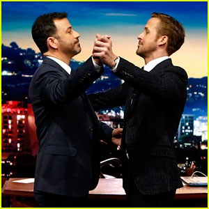 VIDEO: La La Land's Ryan Gosling Teaches Jimmy Kimmel How to Waltz!
