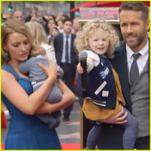PHOTOS: Ryan Reynolds & Blake Lively's Daughters Make First Official Appearance!