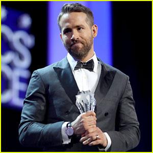 VIDEO: Ryan Reynolds Dedicates Critics' Choice Award to Kids Fighting Cancer