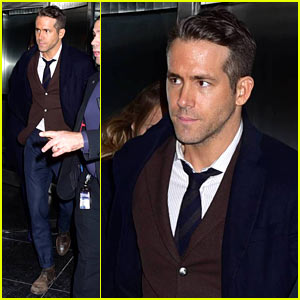 Ryan Reynolds Steps Out for 'Deadpool' Screening After Hollywood Walk of Fame Honor