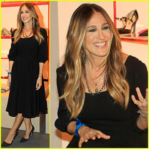 Sarah Jessica Parker Opens Her First Brick & Mortar Shoe Store!