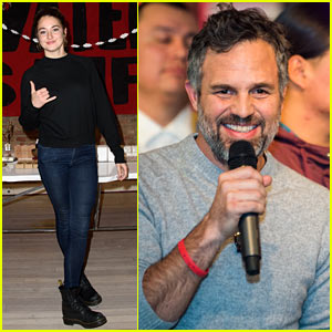 Shailene Woodley & Mark Ruffalo Join Forces at Stand With Standing Rock Benefit