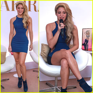Shakira Celebrates the Launch of Her Seventh Perfume!