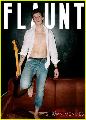Shawn Mendes Shows Off Killer Abs for Shirtless 'Flaunt' Cover