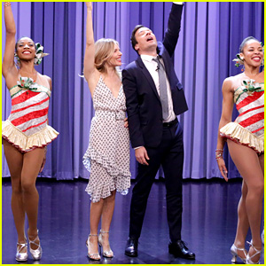VIDEO: Sienna Miller Dances with the Rockettes, Fulfills a Dream!