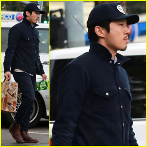 Steven Yeun's 'Walking Dead' Fame Caused Him To Have An Uncomfortable Colonoscopy!