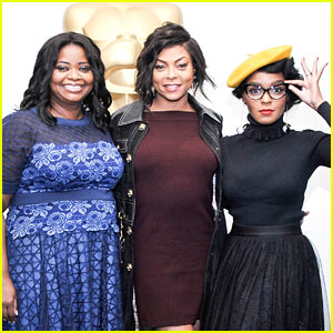 Octavia Spencer, Taraji P. Henson, & Janelle Monae are Having the Best Time on the 'Hidden Figures' Press Tour!