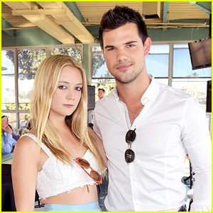 Taylor Lautner Is Comforting Billie Lourd Amid Her Double Loss