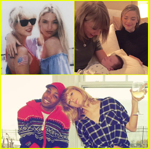 Taylor Swift's Squad Sends Her Birthday Wishes!