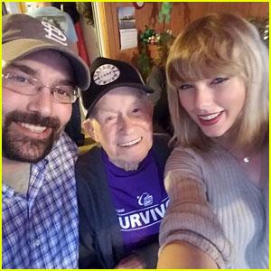 Taylor Swift Meets 96-Year-Old Super Fan Cyrus Porter
