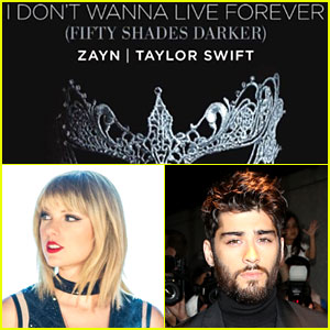 Taylor Swift & Zayn: 'I Don't Wanna Live Forever' Stream, Download & Lyrics - LISTEN NOW!