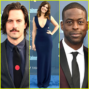 'This Is Us' Cast Glams Up Together for Critics' Choice Awards!
