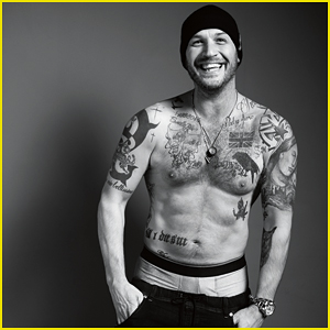 Tom Hardy Goes Shirtless For 'Esquire UK', Talks Losing Oscar Bet to Leonardo DiCaprio!