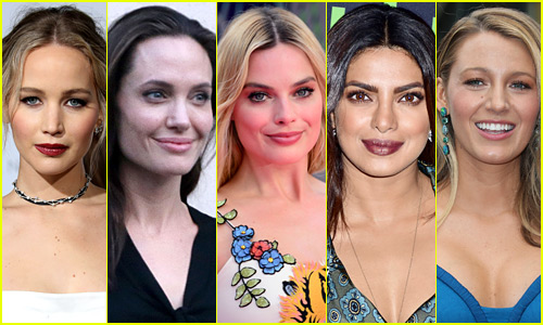 The 25 Most Popular Actresses on Just Jared in 2016