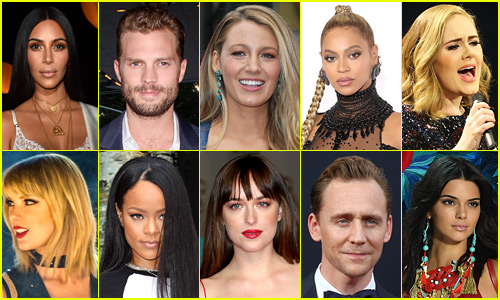 top celebs main - Top 10 Most Known Celebrities