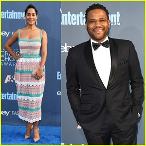 'Black-ish' Co-stars Tracee Ellis Ross & Anthony Anderson Hit Up Critics' Choice Awards 2016!