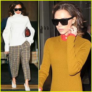 Victoria Beckham Struts Her Way Around NYC