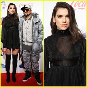 VIDEO: Dua Lipa Makes Her Capital FM Jingle Bell Ball Debut With Sean Paul!