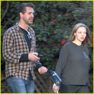 Amanda Seyfried Shows Off Her Baby Bump on Hike with Fiance Thomas Sadoski