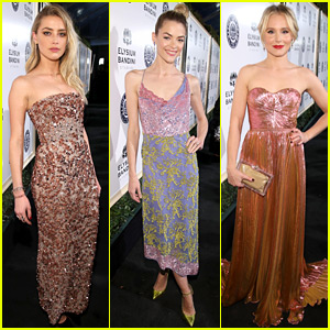 Amber Heard, Jaime King, & Kristen Bell Glam Up for a Great Cause at Art of Elysium Gala 2017!