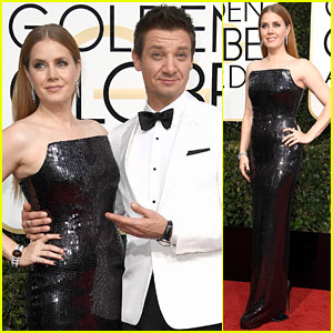 Golden Globe Nominee Amy Adams Makes 'Arrival' for Show with Jeremy Renner!