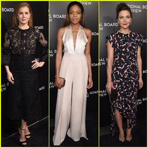 Amy Adams & Naomie Harris Both Win Big at National Board of Review Gala 2017