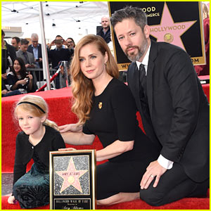 Amy Adams is Joined by Daughter Aviana & Husband Darren Le Gallo as She Receives Star on Hollywood Walk of Fame!