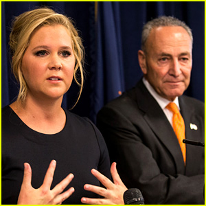 Amy Schumer Defends Cousin Chuck Schumer While Slamming Trump