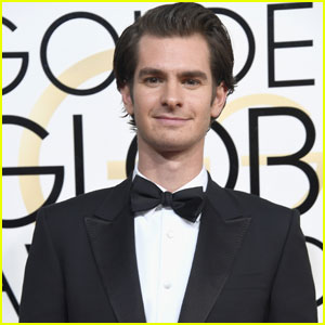 Andrew Garfield Cleans Up Nicely For Golden Globes 2017