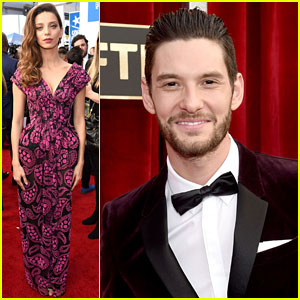 Westworld's Angela Sarafyan & Ben Barnes Are SAG Awards Ready!