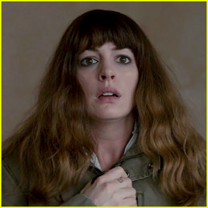 Anne Hathaway Controls a Monster in New 'Colossal' Trailer!
