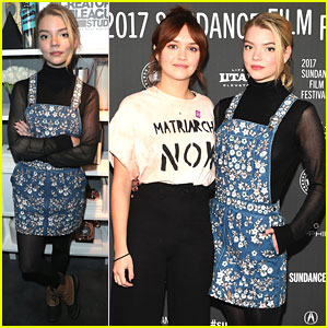 Anya Taylor-Joy & Olivia Cooke Premiere 'Thoroughbred' At 2017 Sundance Film Festival