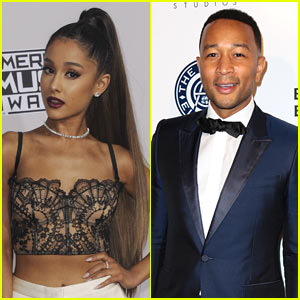 Are Ariana Grande & John Legend Teaming Up for 'Beauty & the Beast' Duet?