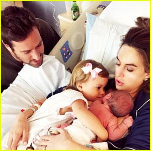 Armie Hammer & Elizabeth Chambers Share First Photo of Newborn Son!