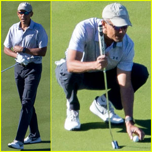 Barack Obama Hits the Golf Course After Leaving White House