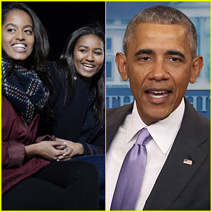 President Obama Reveals Sasha & Malia's Reaction to Donald Trump's Election Win