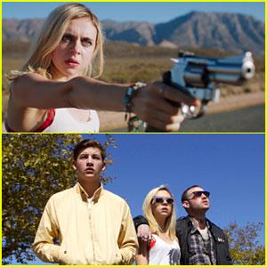 EXCLUSIVE: Tye Sheridan & Bel Powley Get In Major Trouble in 'Detour' Clip!