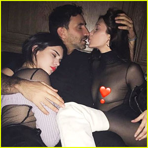 Bella Hadid & Designer Riccardo Tisci Take a Steamy Photo!