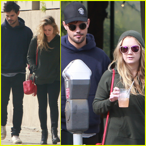 Billie Lourd Steps Out With Taylor Lautner For First Time Since Carrie Fisher's Funeral
