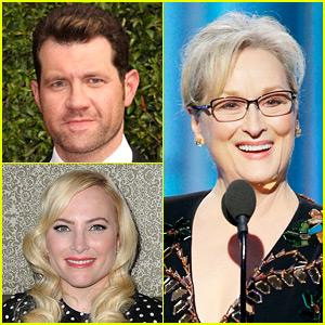 Billy Eichner & Meghan McCain Fight on Twitter Over Meryl Streep's Golden Globes Speech