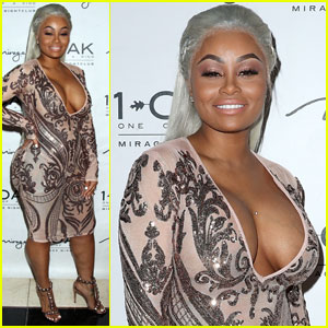 Blac Chyna Takes A Break From Mommy Duties in Las Vegas