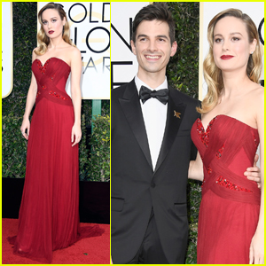 Brie Larson Brings Fiancé Alex Greenwald to Golden Globes 2017