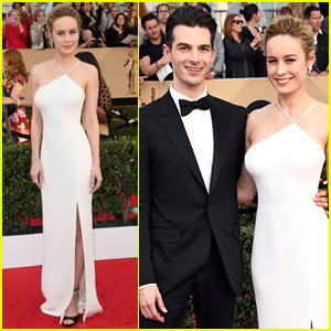 Brie Larson & Fiance Alex Greenwald Couple Up at SAG Awards 2017