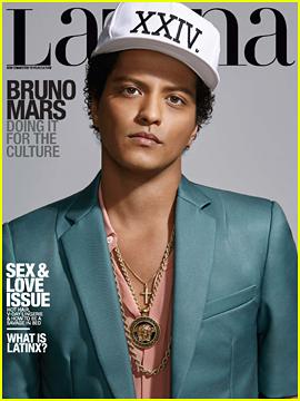 Bruno Mars Tells 'Latina' Magazine That 'Black Music Means Everything'
