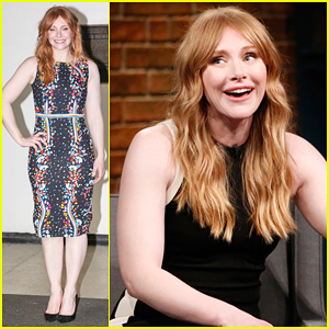 Bryce Dallas Howard Isn't Worried About Nepotism When It Comes To Father Ron Howard!